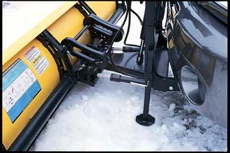 Western snow plow hook up