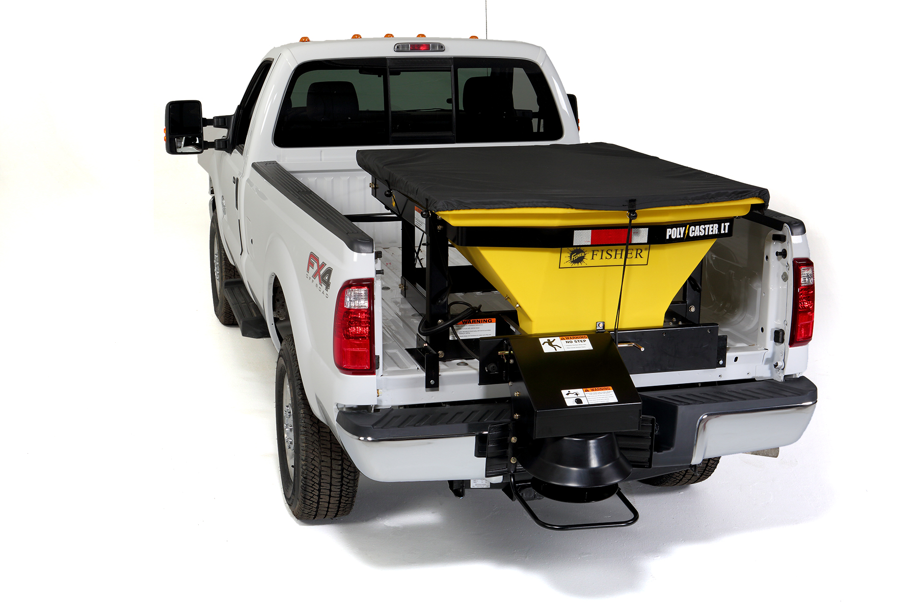 Fisher Salt Spreader Parts : Poly caster™ lt hopper spreader nj snowplows western