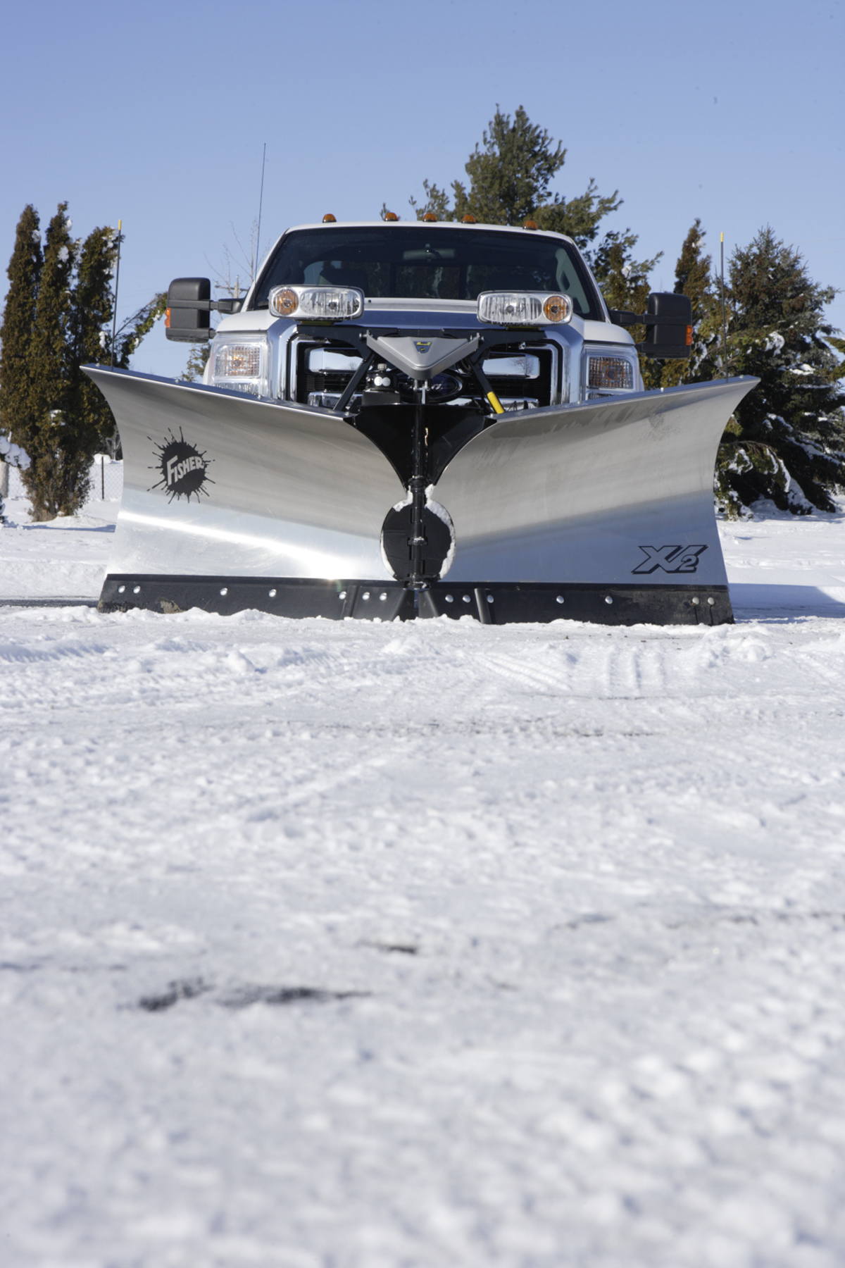 XV2™ V-Plow | NJ Snowplows | Western & Fisher Snowplows & Salt Spreaders