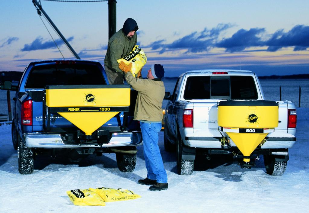 Low Profile Tailgate Spreaders | NJ Snowplows | Western & Fisher Snowplows & Salt Spreaders