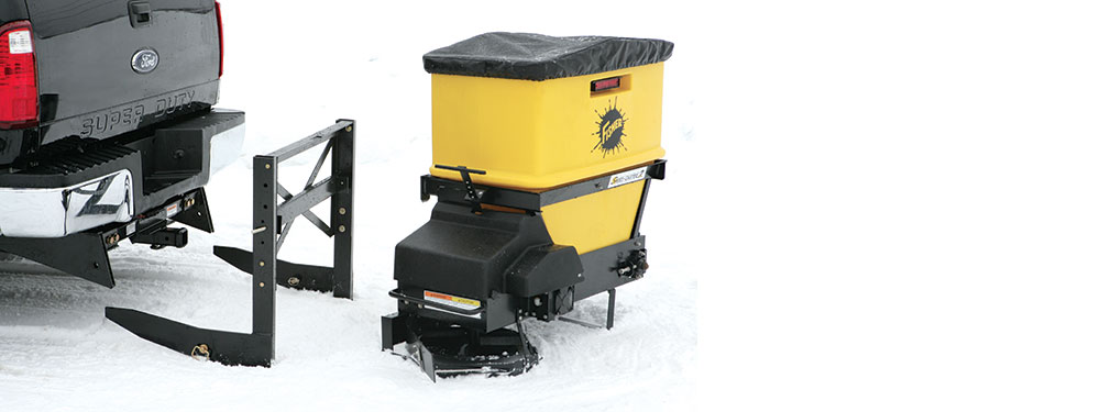 Fisher Salt Spreader Parts : Speed caster™ tailgate spreader nj snowplows western