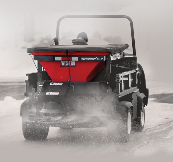 Fisher Salt Spreader Parts : Tornado™ utv hopper spreader nj snowplows western